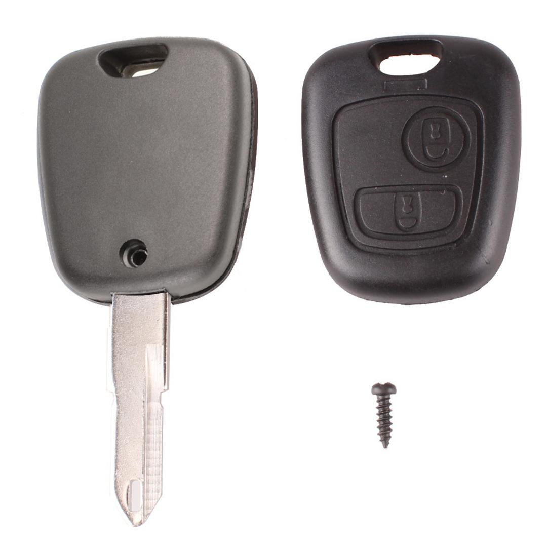 Chave Telecomando Peugeot 206 207 307 308 407 408 2 Botões N