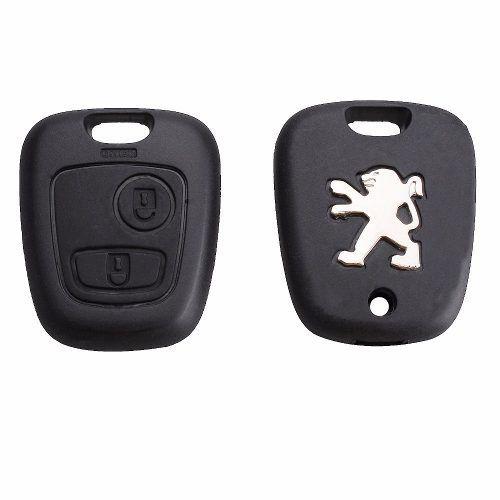 Chave Telecomando Peugeot 206 207 308 407 408 2 Botões L
