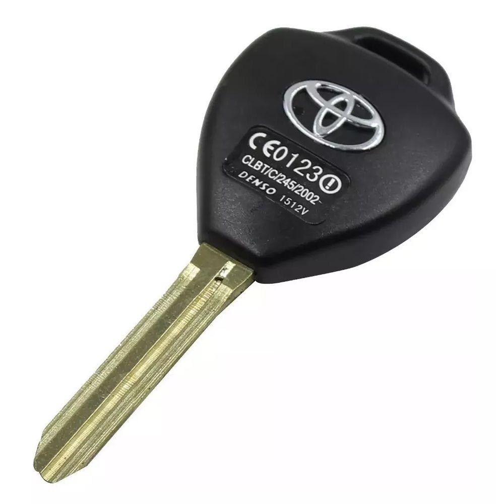 Chave Telecomando Toyota Corolla Hilux SW4 3 Botões