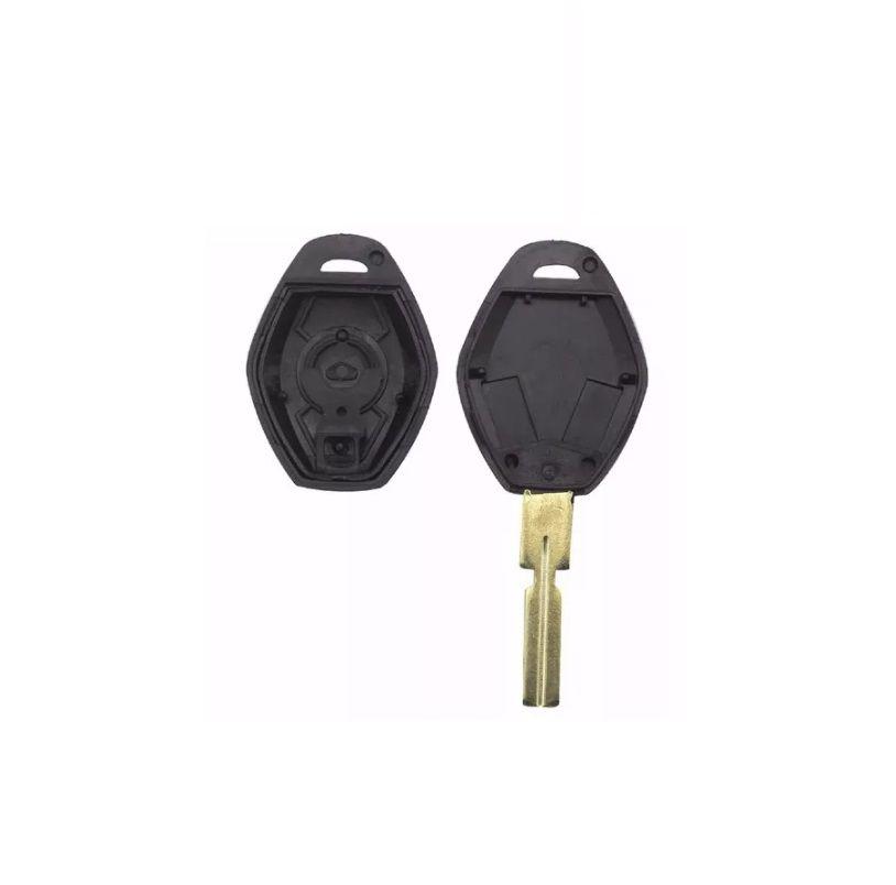Chave Telecomantdo Bmw Serie 3 5 7 Z3 Z4 E38 E39 E46 Emblema