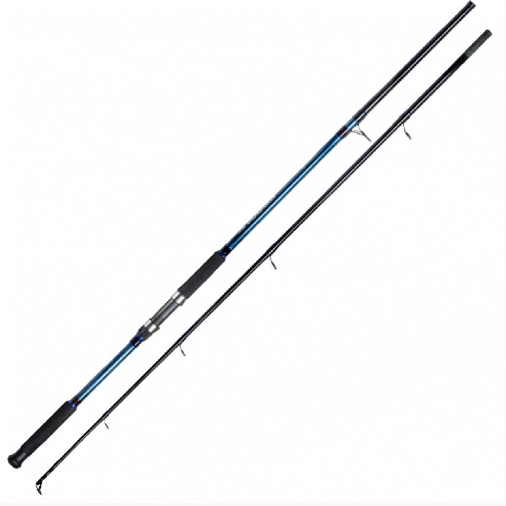 Conjunto Molinete Pesca Serena 3000 com Linha + Vara Solara 2,10m 25 Lbs 2 Partes Azul