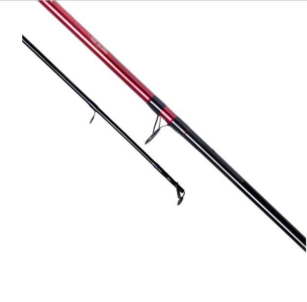 Conjunto Molinete Pesca Serena 3000 com Linha + Vara Solara 2,10m 25 Lbs 2 Partes Vermelha