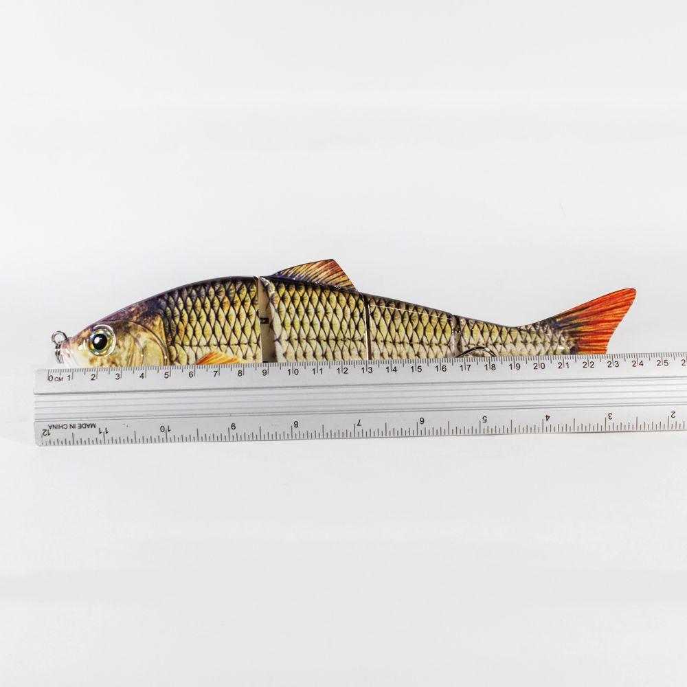 Isca Artificial Articulada Tamanho Extra Grande 25cm 135g