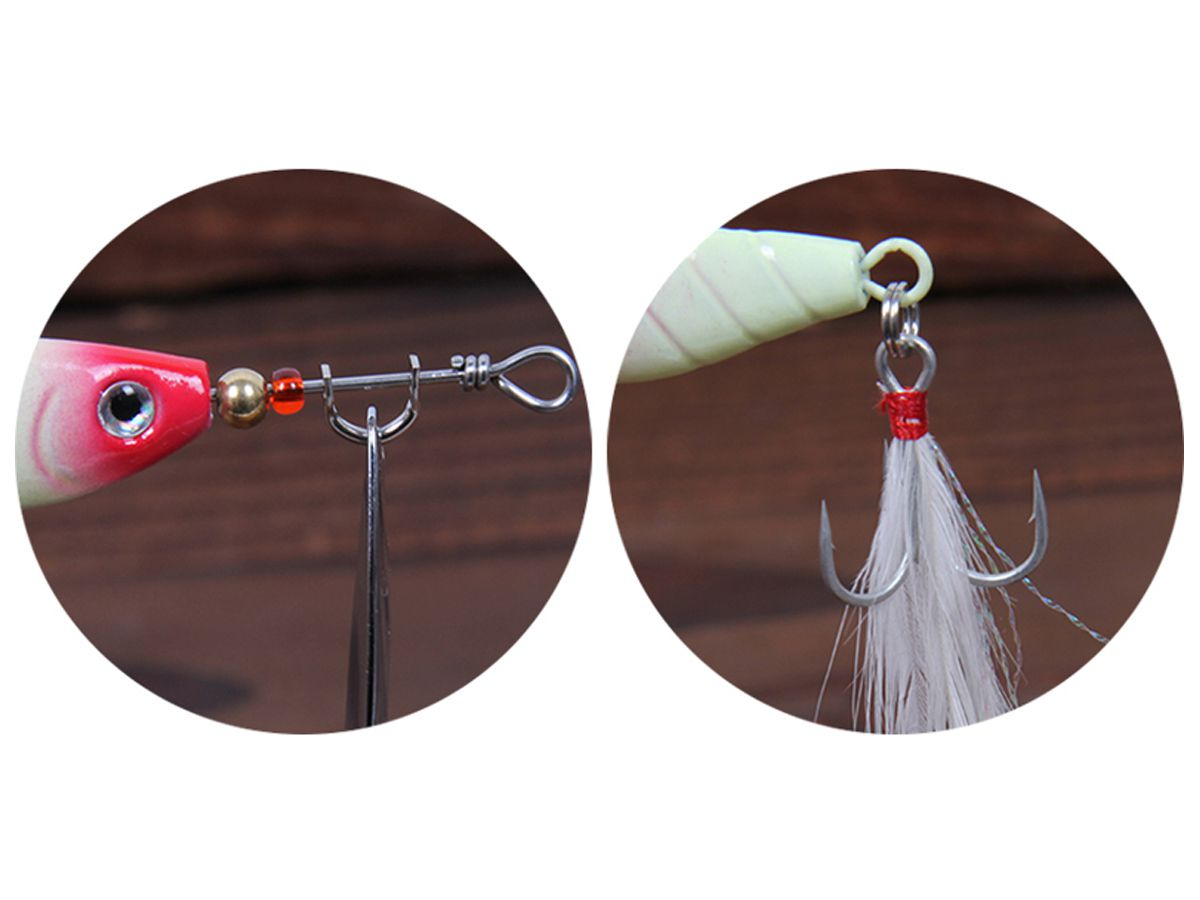 Isca Artificial Metal Spinner Bait 7cm 10gr com 3un