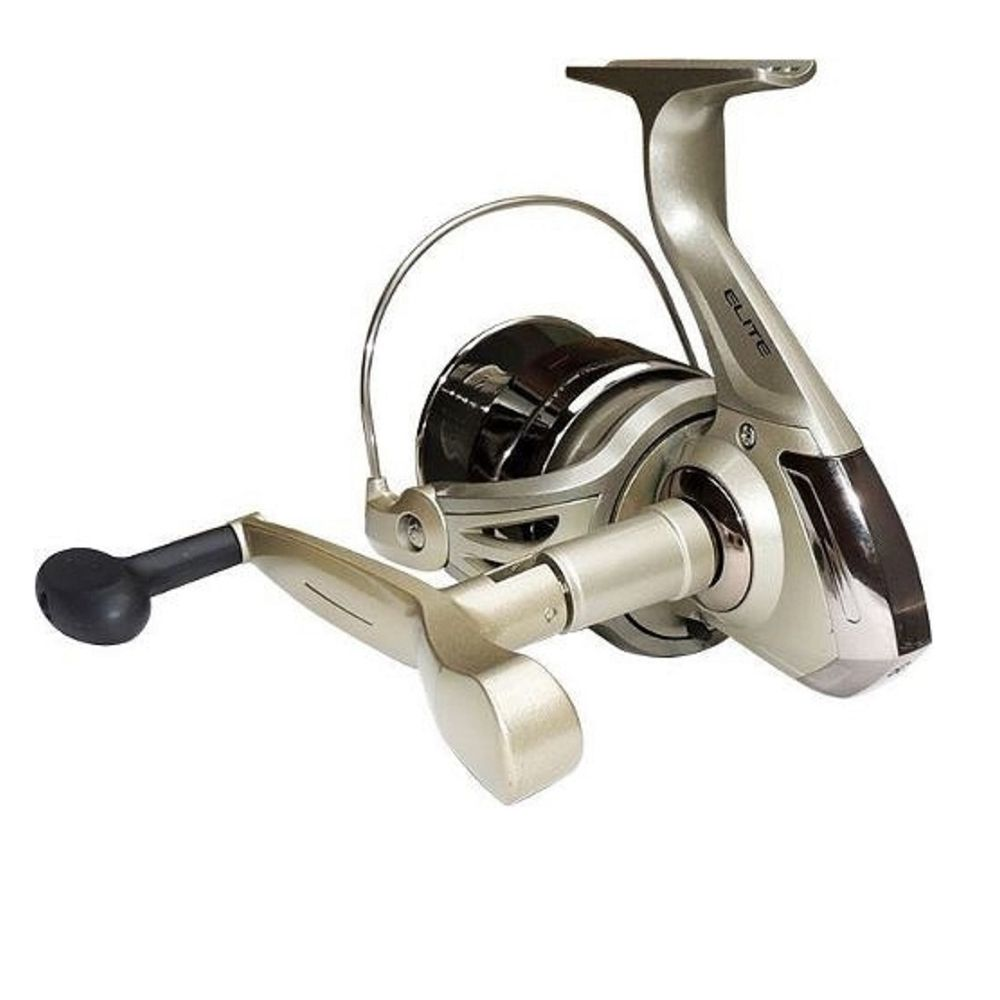 Kit 4 Molinetes Pesca Marine Sports Elite 2000 3 Rolamentos