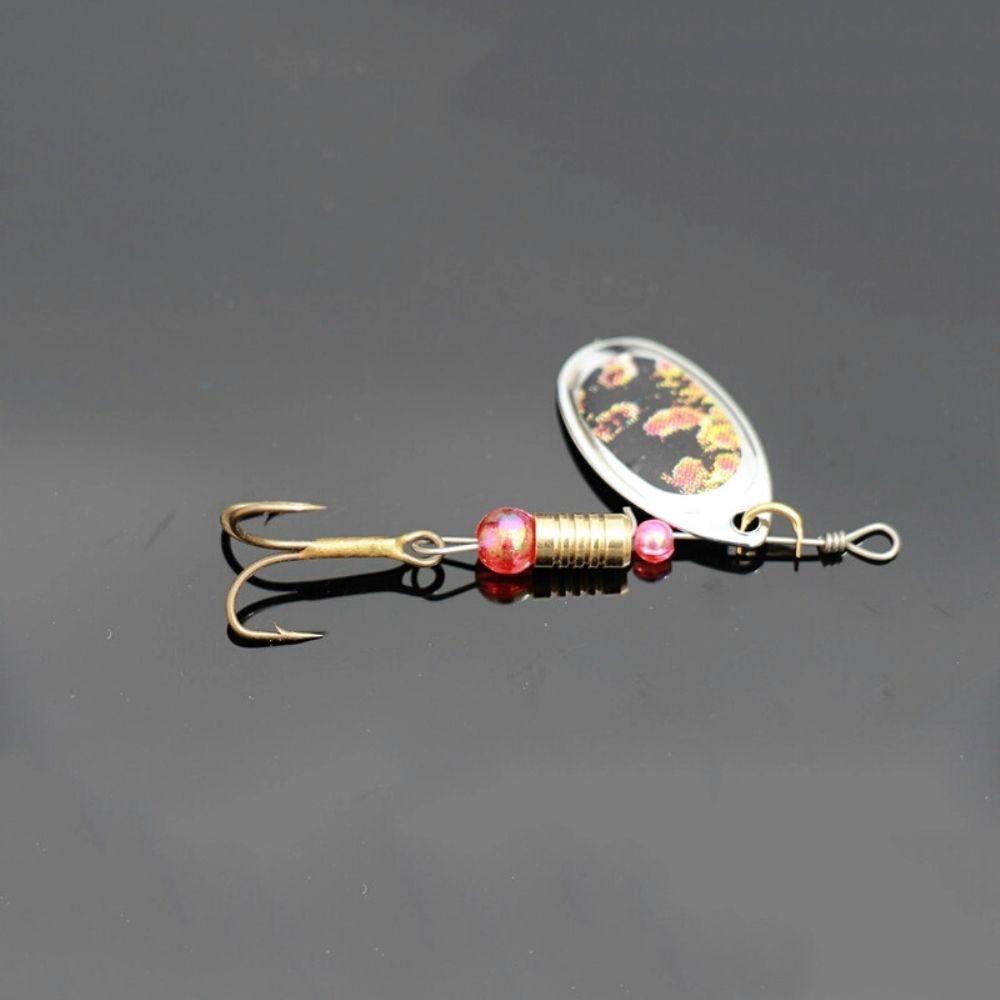 Kit Isca Artificial Metal Spinner Bait Traira Tilapia 10un