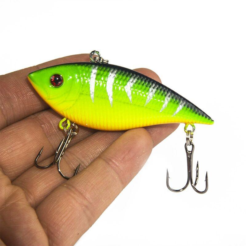 Kit Isca Artificial Pesca 7cm 11gr C/ 5un