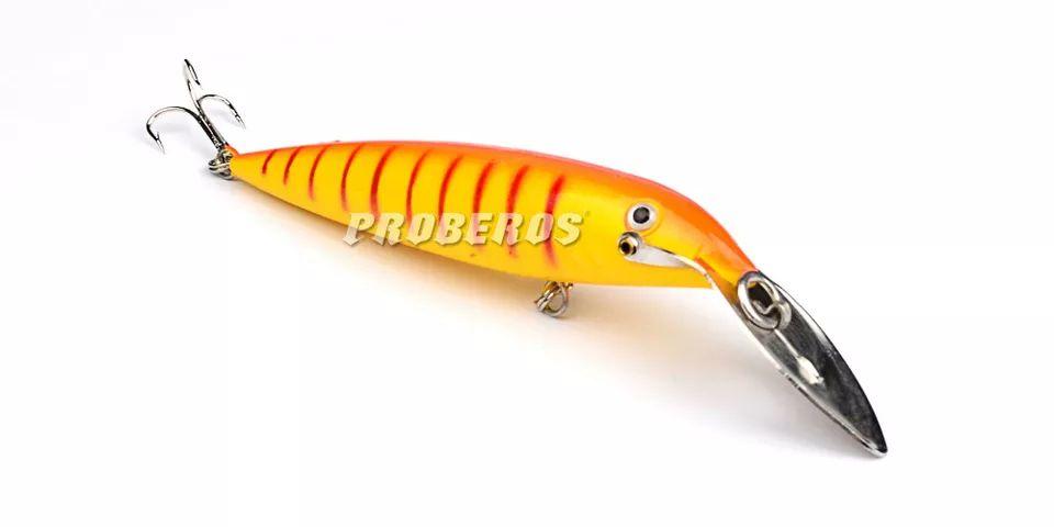 Kit Isca Artificial Tucunare Dourado Robalo Traira 14cm 7un