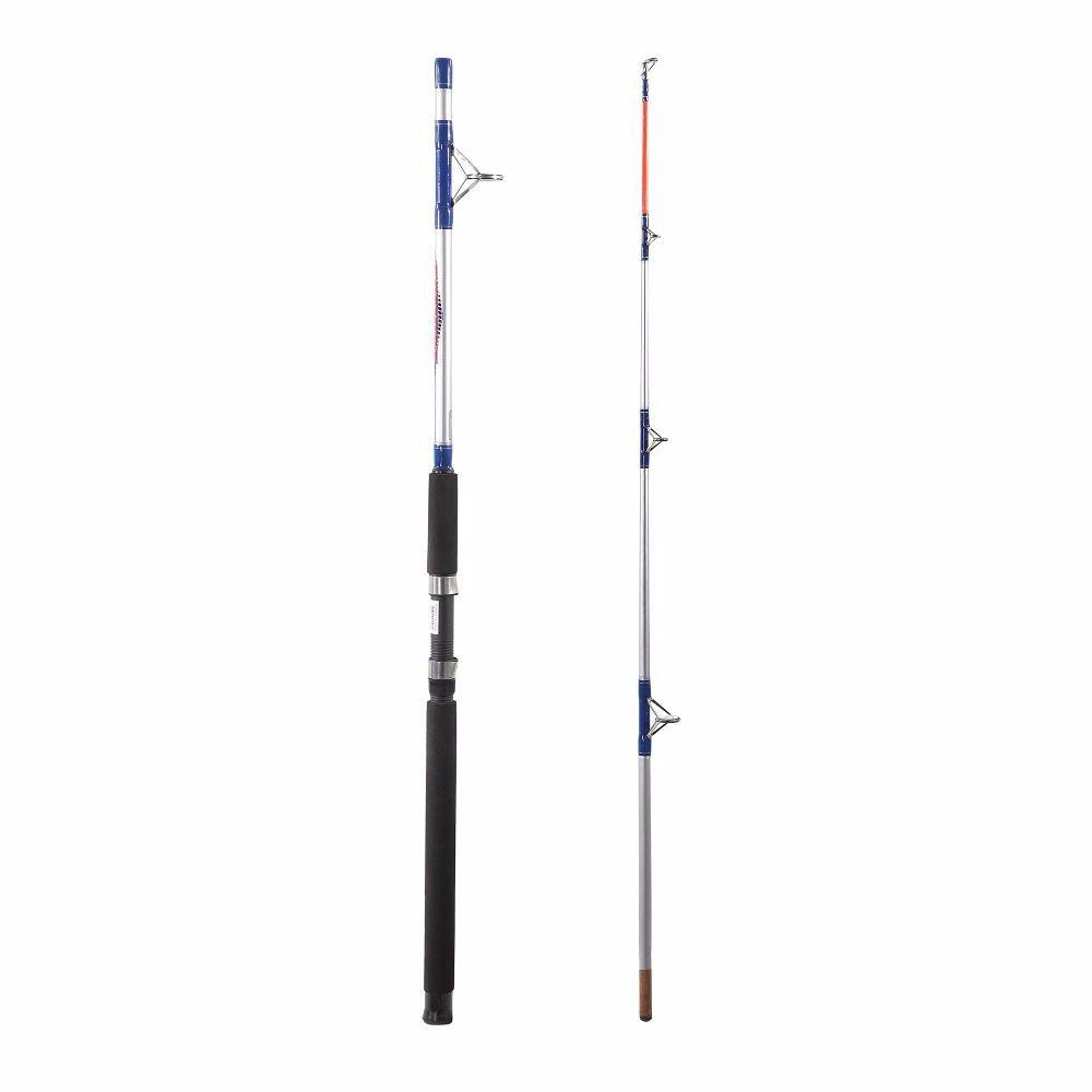 Kit Pesca Pesada Molinete Elite 6000 Vara Combat 1,83m Linha Multifilamento