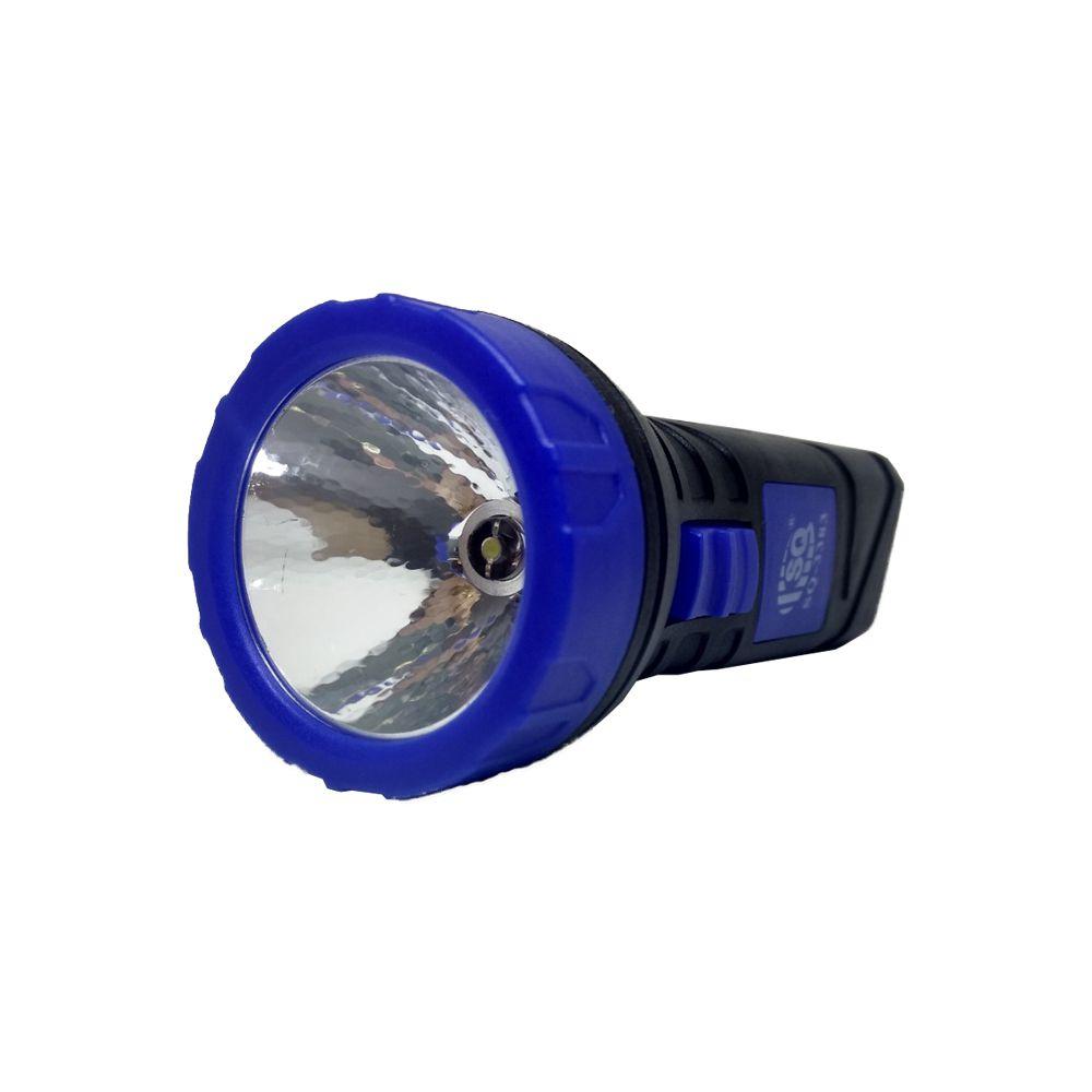 Lanterna de Led Recarregável 1 Led 13,5cm 0,5W SQ-3383