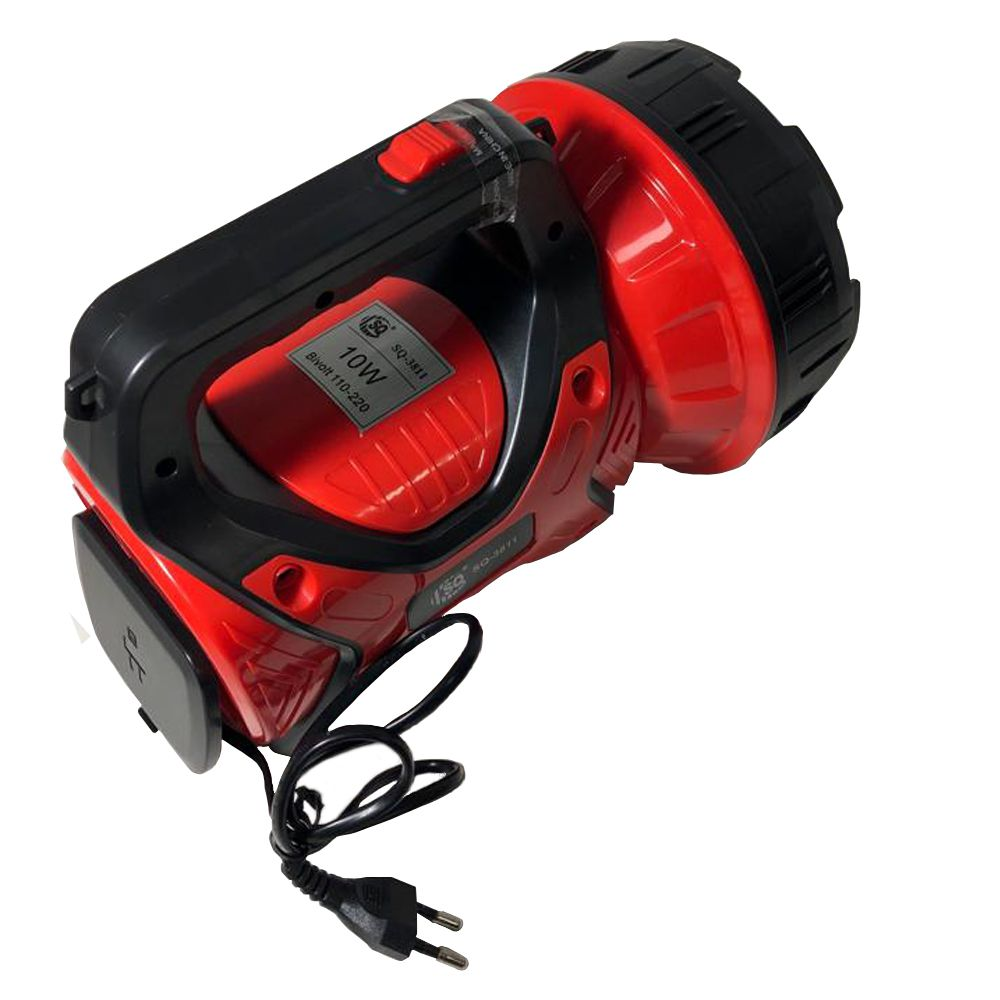 Lanterna Holofote Recarregavel Led 10W Grande Super Potente