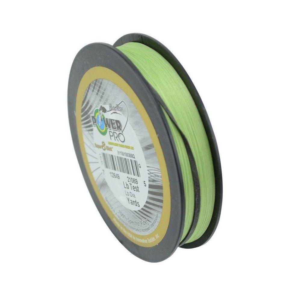 Linha Pesca Multifilamento Power Pro Super 8 Slick 150yds 0.28mm 30 Lbs Verde