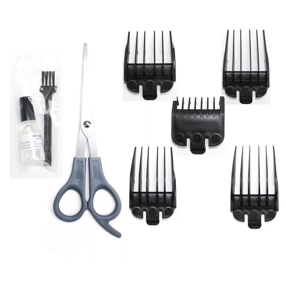 Máquina de Cortar Cabelos Wahl Home Cut Basic 9 Peças