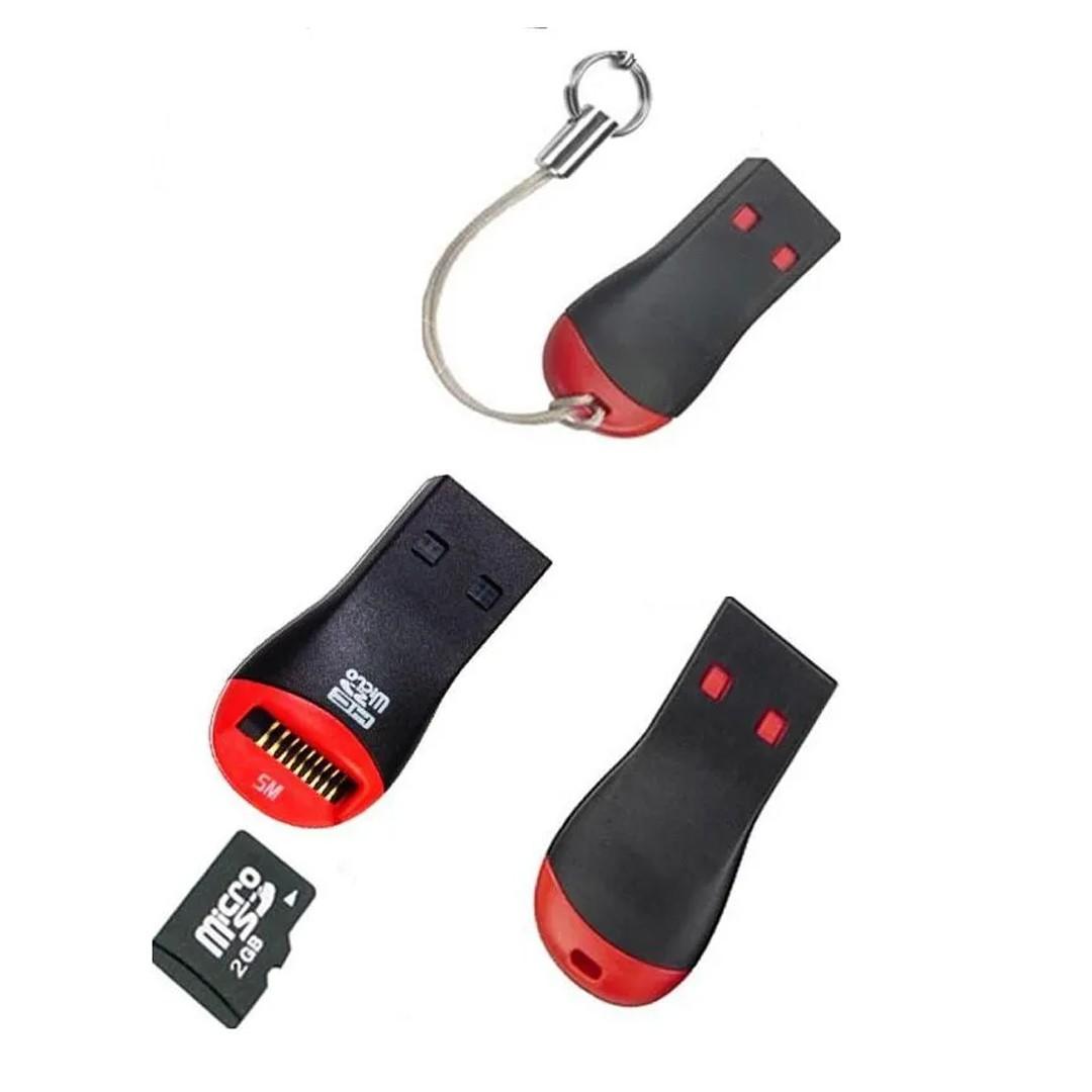 Mini Leitor Adaptador Usb Cartão Memória M2 MINI SD TF MS Micro mmc XD RSMMC MS PRO