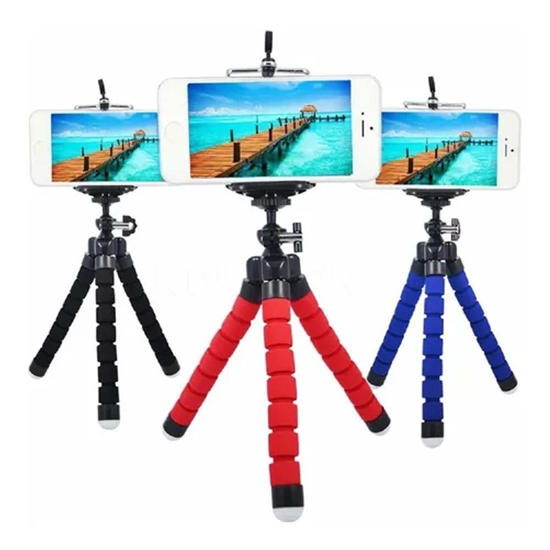 Mini Tripé Suporte Para Celular Câmera Video Foto Selfie Universal