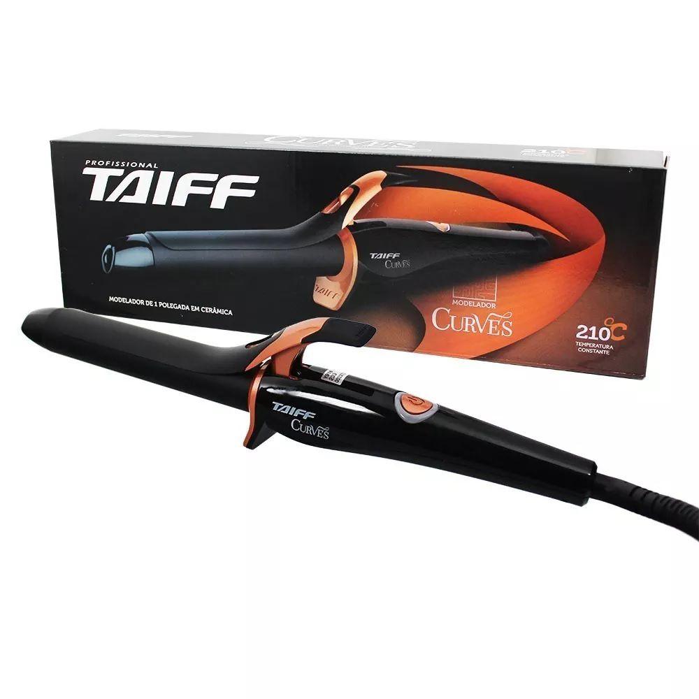 Modelador Cachos Taiff Curves 210º 1 Polegada 25mm - Bivolt