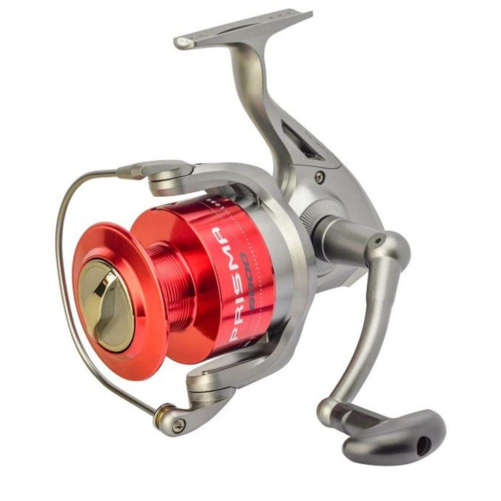 Molinete Pesca Marine Sports Prisma 1000 5 Rolamentos Carretel Alumínio