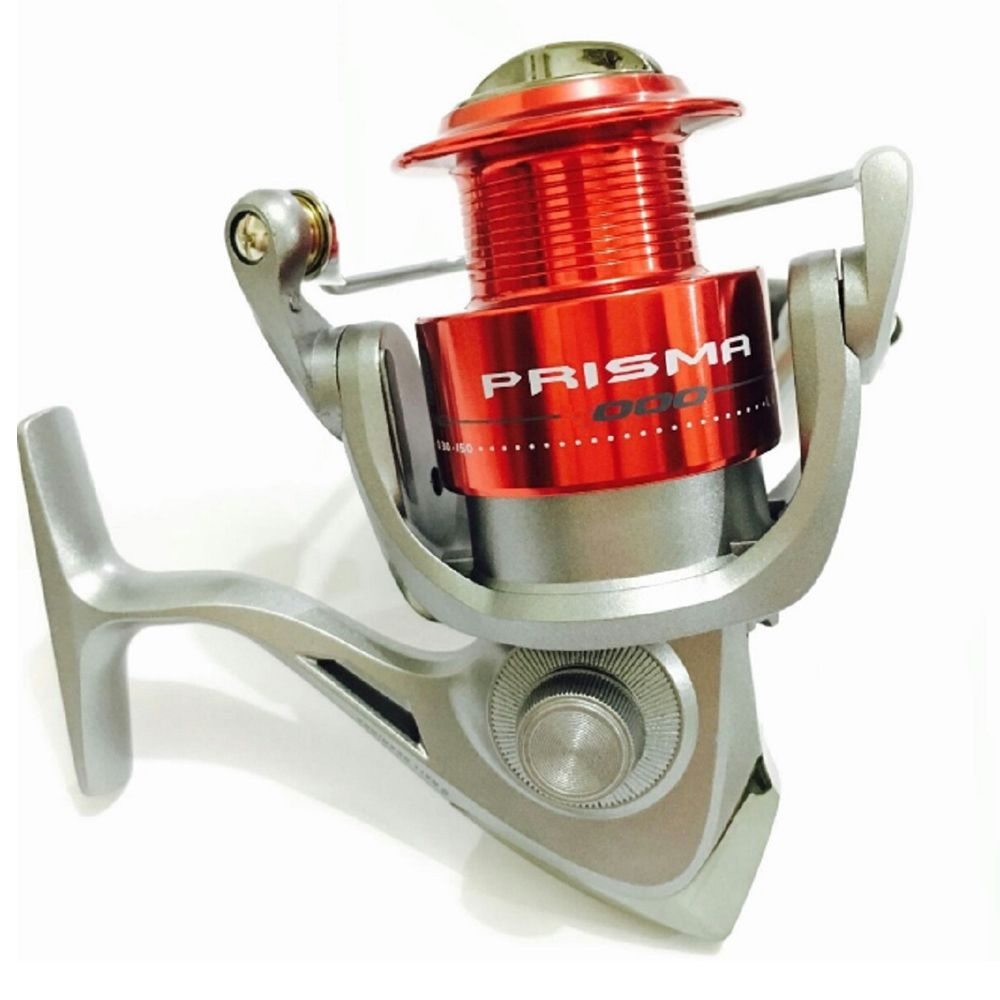 Molinete Pesca Marine Sports Prisma 2000 5 Rolamentos Carretel Alumínio