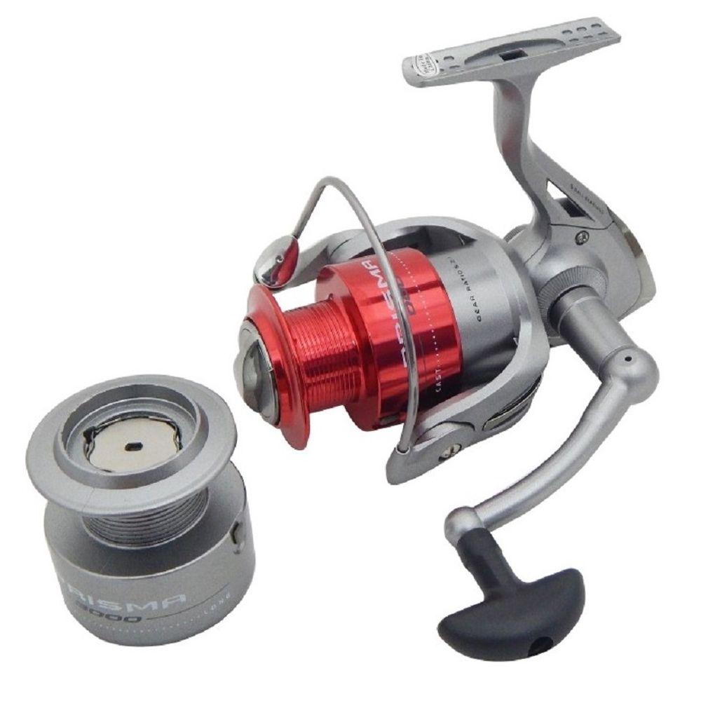 Molinete Pesca Marine Sports Prisma 500 5 Rol Carretel Alumínio Pesca Leve