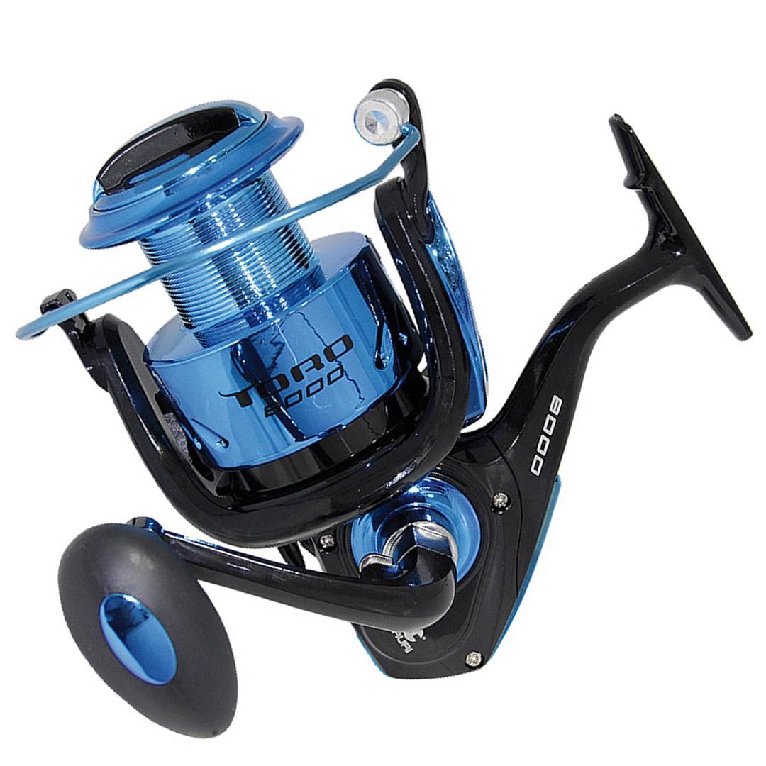 Molinete Pesca Pesada Tamanho Grande Maruri Toro 8000 3 Rolamentos Azul