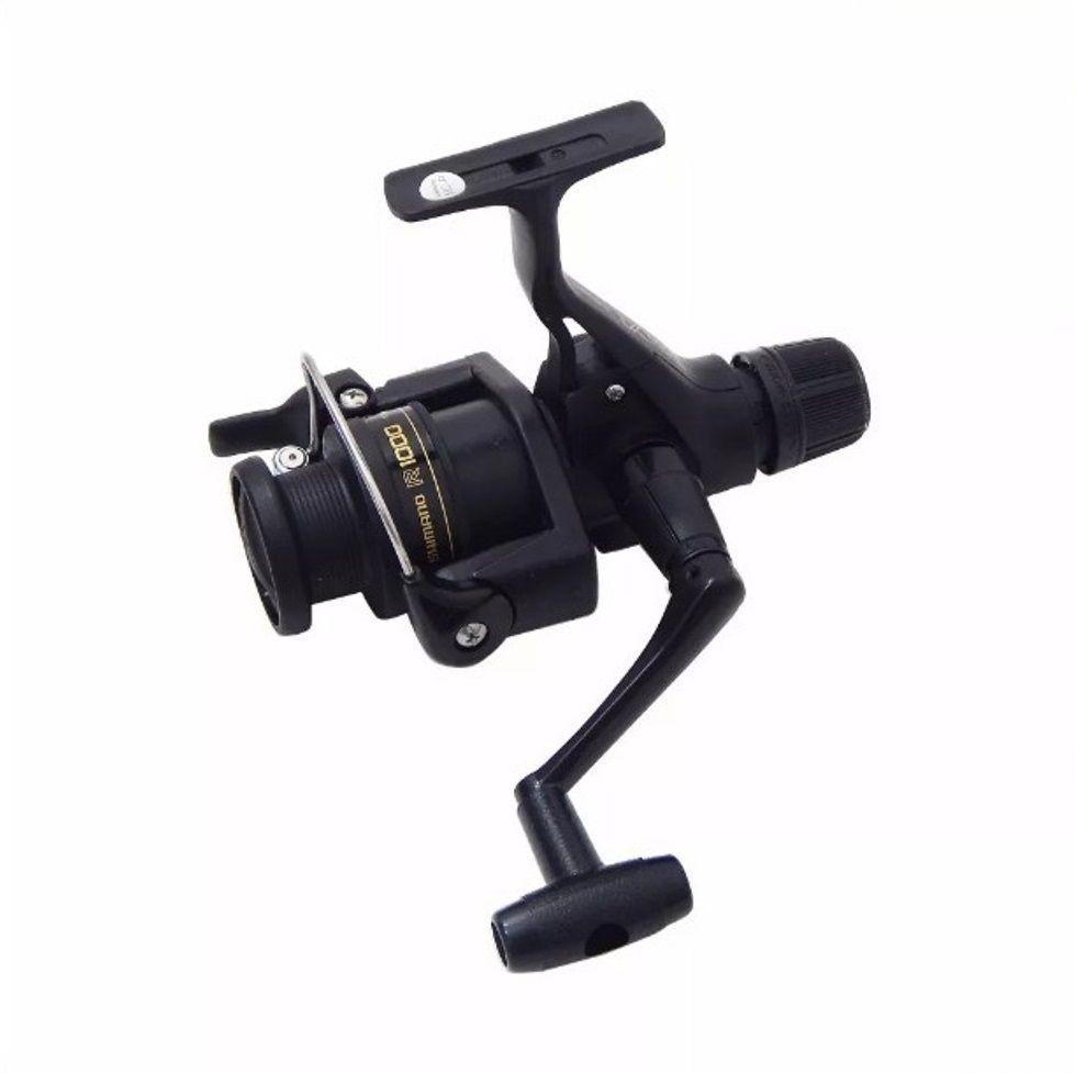 Molinete Pesca Shimano IX 1000R Fricção Traseira Drag 3Kg