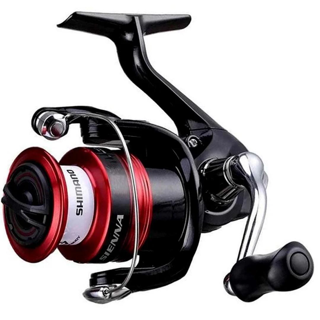 Molinete Pesca Shimano Sienna FG 2500 4 Rolamentos 5.0:1 Drag 4Kg