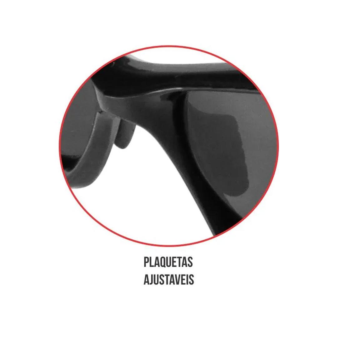 Óculos de Sol Esportivo Polarizado Anti Risco Marine Sports Smoke MS-15130