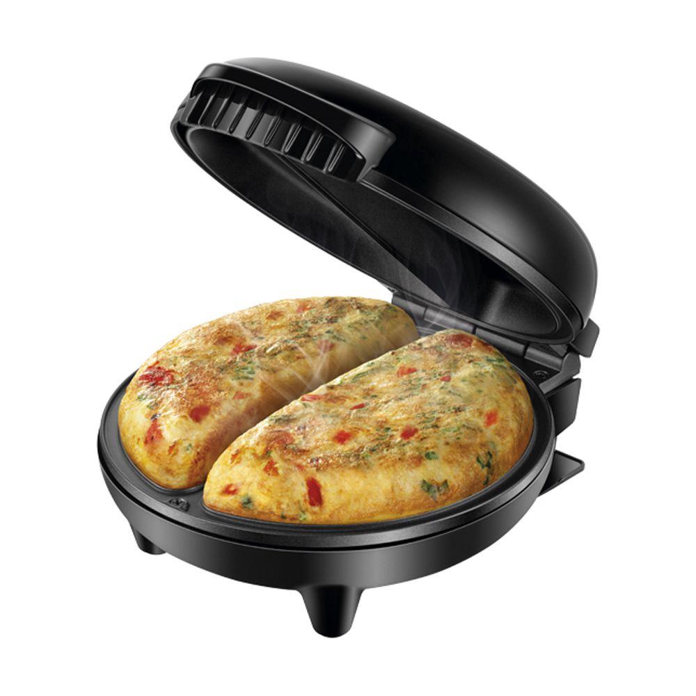 Omeleteira Elétrica Mondial Easy Omelet 800W Antiaderente sem Óleo Preto OM-02