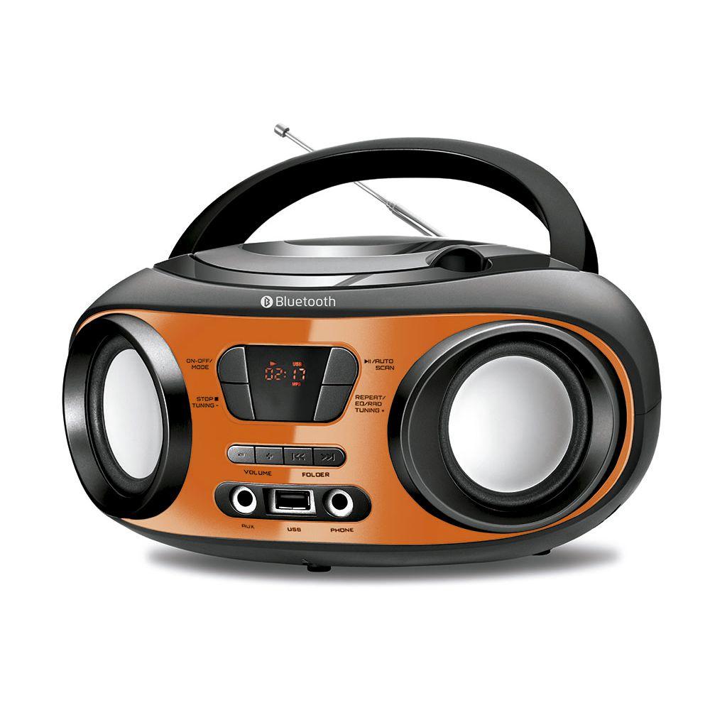 Radio Boombox Mondial BX18 FM CD USB Bluetooth Fone - Bivolt