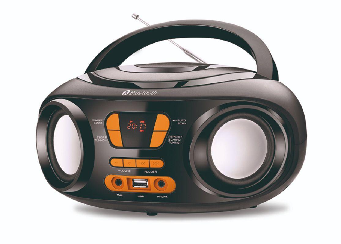 Radio Boombox Mondial BX19 Bluetooth USB FM Digital - Bivolt
