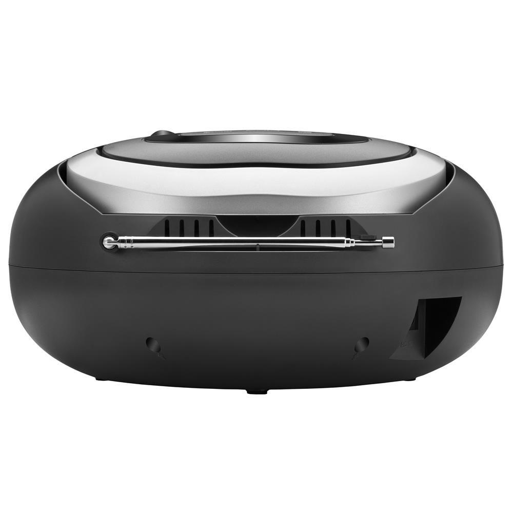 Radio Boombox Portatil Mondial NBX13 USB CD FM Digital Fone - Bivolt