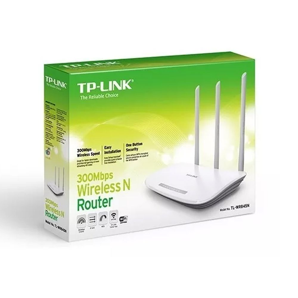 Roteador Wireless N 300Mbps TL-WR845N 3 Antenas