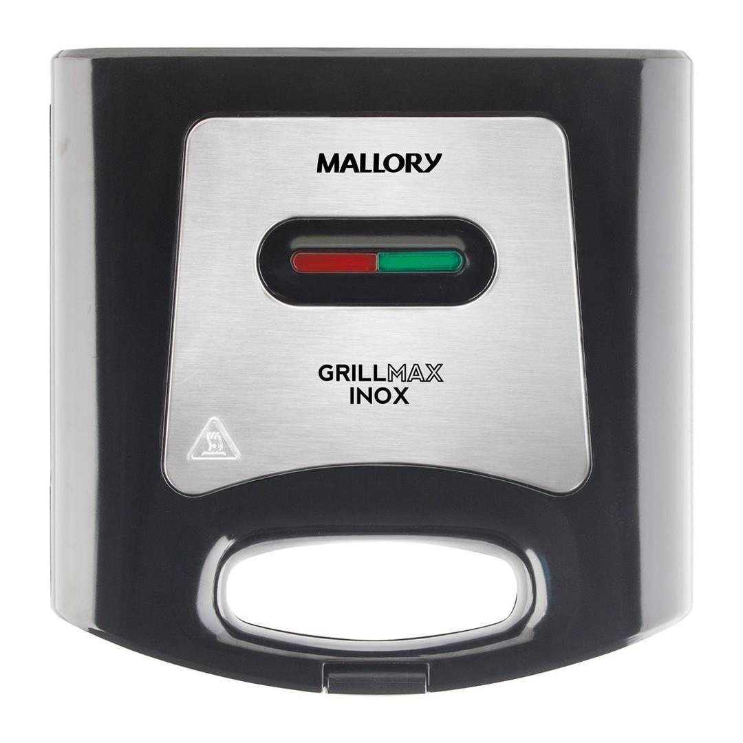 Sanduicheira Elétrica E Grill Antiaderente Mallory Grillmax