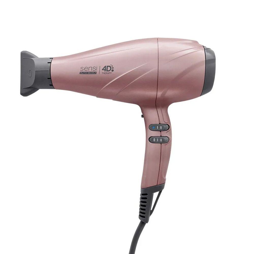 Secador de Cabelos Gama Italy Sensi 4D Therapy Profissional 2500W Rose Bivolt