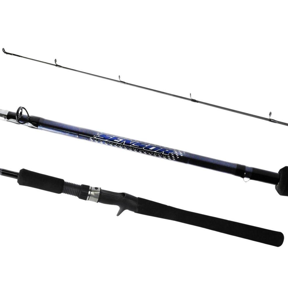 Vara Pesca Carretilha Marine Sports Sensor C602H 1,83m 20-40 Carbono Ação Rapida