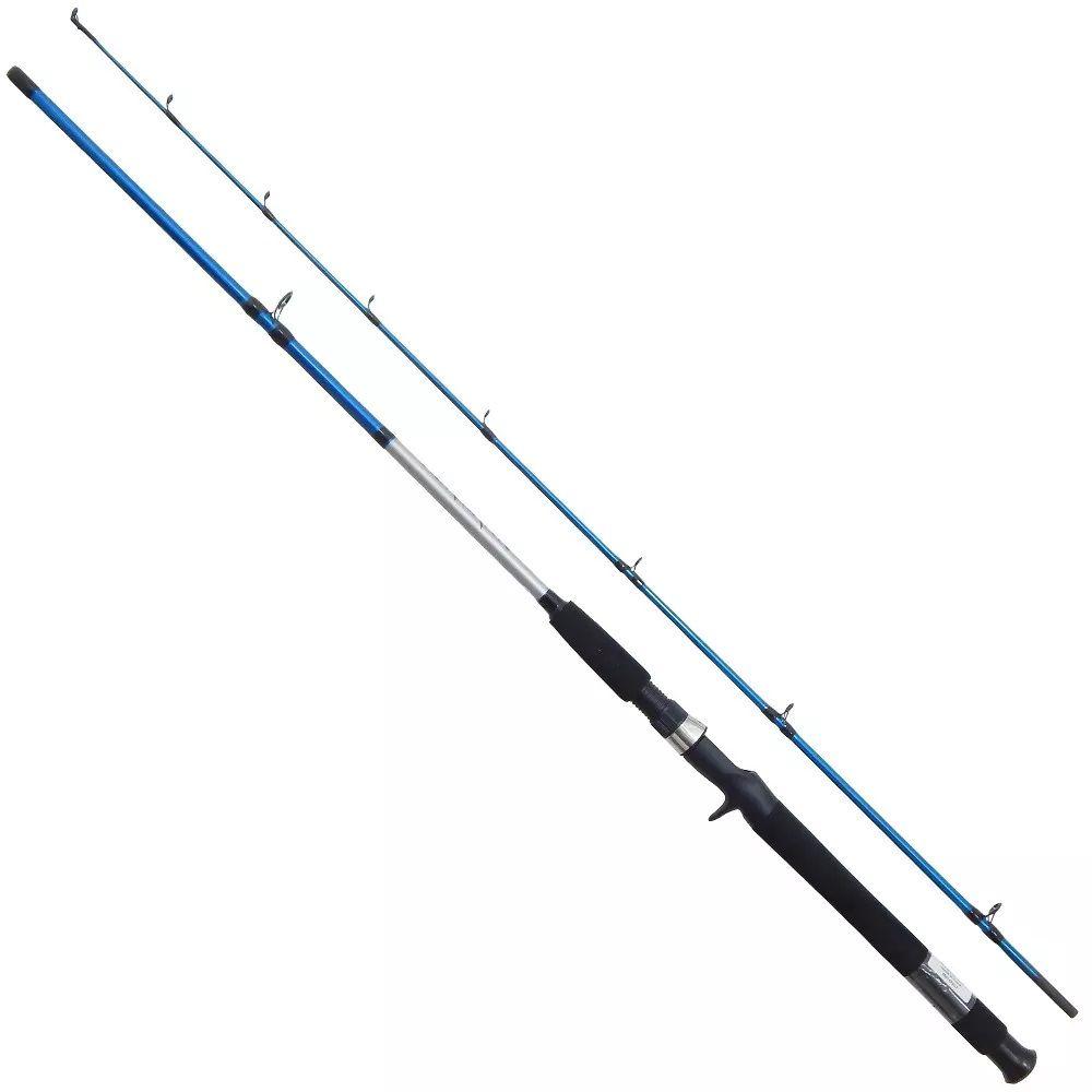 Vara Pesca Carretilha Shimano Cruzar 2662B 1,98m 10-20Lbs 2 Partes Azul