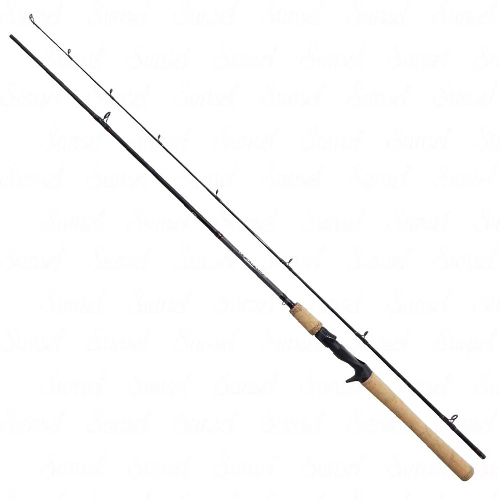 Vara Pesca Carretilha Shimano Scimitar SMC66M2B 1,98m 8-15 Libras 2 Partes