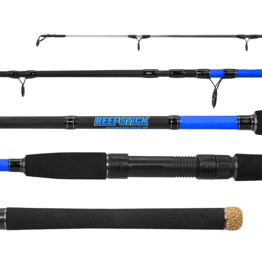 Vara Pesca Molinete Daiwa Beef Stick BF562MFS 1,68m 10-20 Lbs 2 Partes
