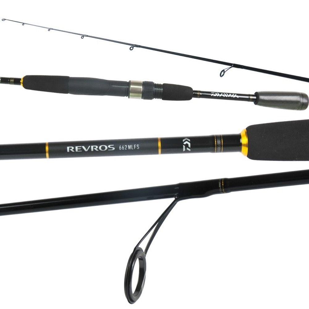 Vara Pesca Molinete Daiwa Revros 562LFS 1,68m 3-10 Lbs 2 partes