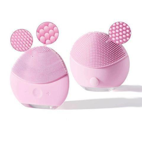 Escova Massageadora de Limpeza Facial Ultrassônica Forever