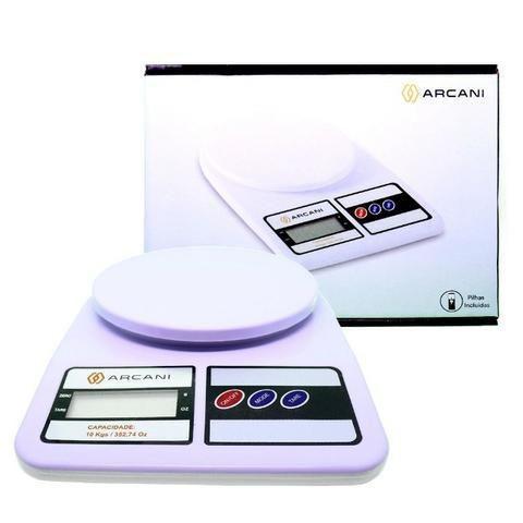 Mini Balança Digital de Alta Precisão 1g À 10kg Para Cozinha Comercio Confeitaria Açougue Frios