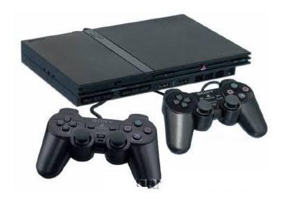 Playstation 2 Play 2 PS2 Desbloqueado Semi Novo 2 Controle 1 Memory Card