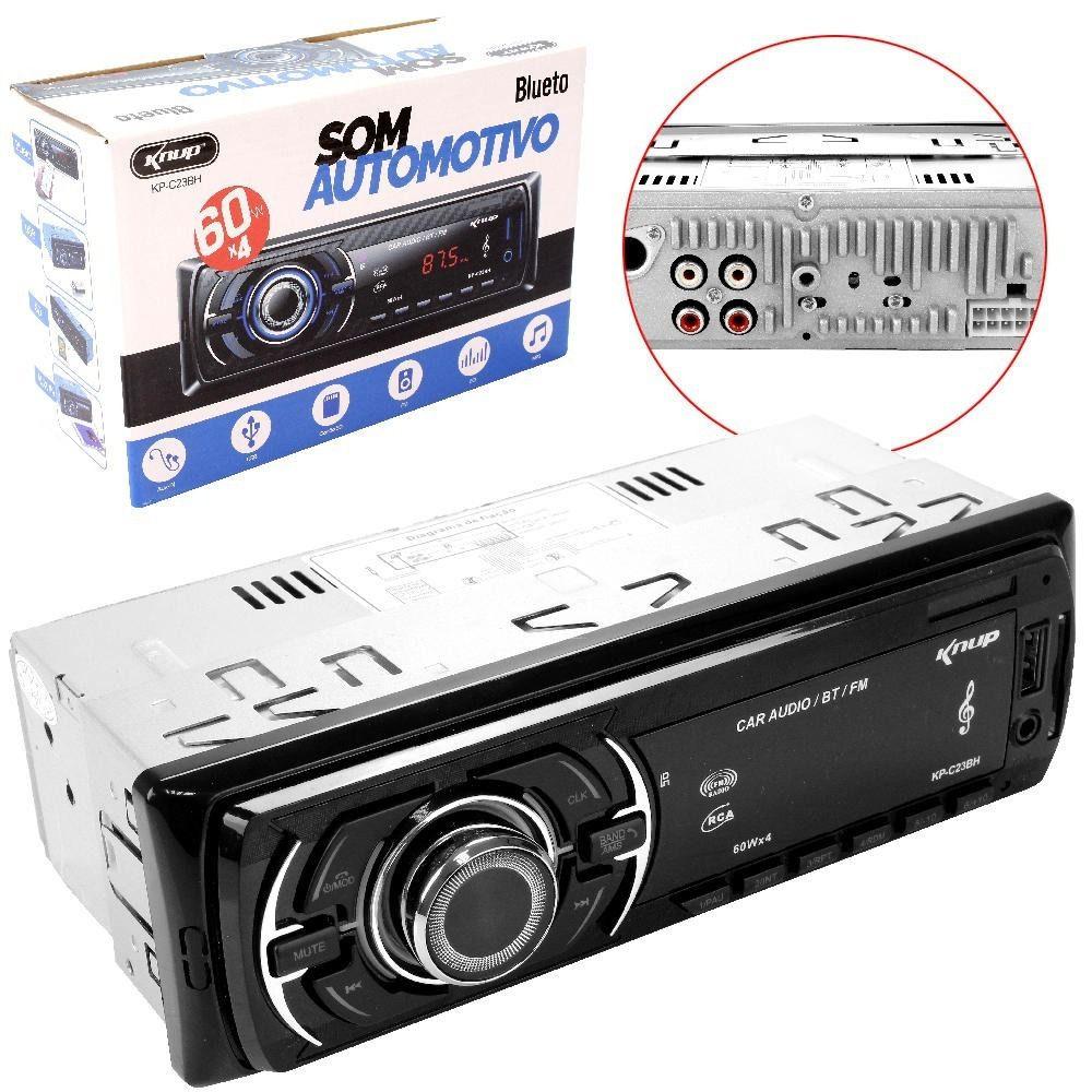 Rádio Automotivo Usb Mp3 Auxiliar Player KP-C22BH