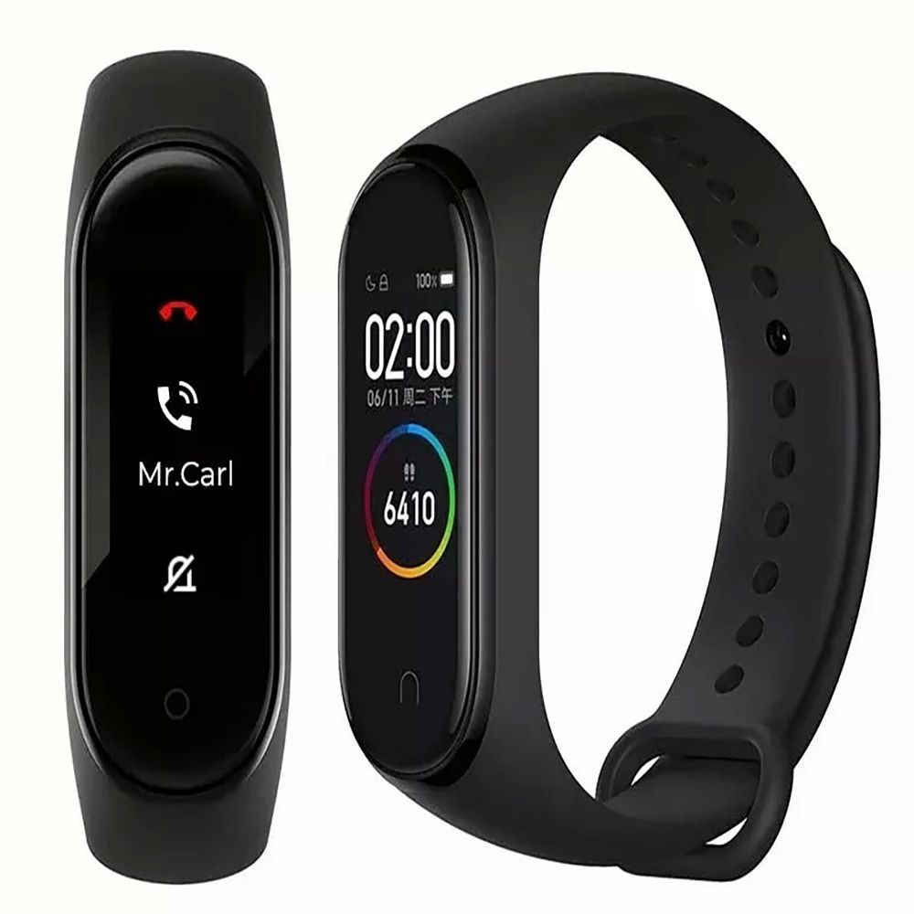 Relógio Pulseira Xiaomi Mi Band 4 Global Bluetooth Original Frequência Cardiaca