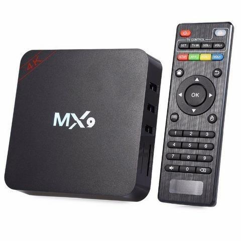 Tv Box Smart MX9 4k 4GB RAM 32GB Memória Interna Netflix Youtube Android 7.1