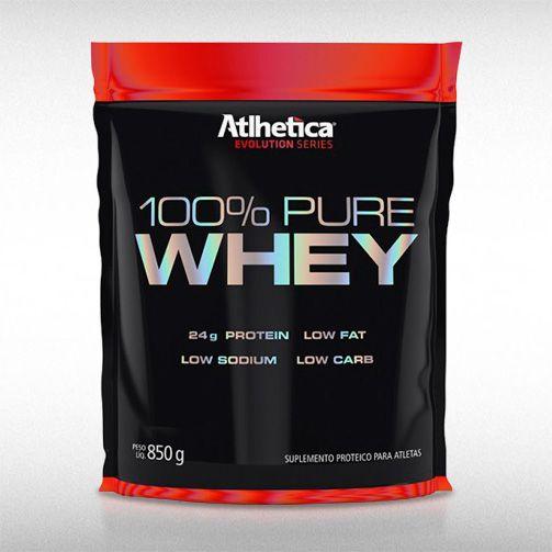 100% PURE WHEY (REFIL 850G) - ATLHETICA  - BRASILVITA