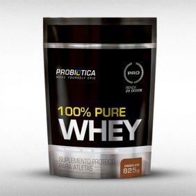 100% PURE WHEY (REFIL 825G) - PROBIÓTICA