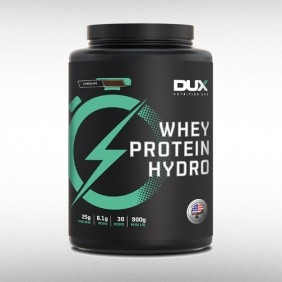 WHEY PROTEIN HYDRO POTE (900G) - DUX NUTRITION