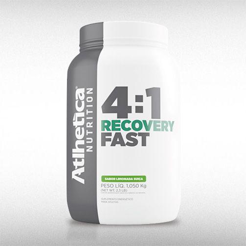 4:1 RECOVERY FAST (1,050KG) - ATLHETICA  - BRASILVITA