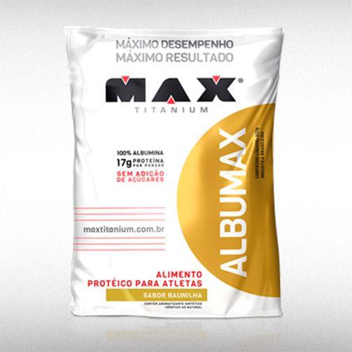 ALBUMAX (500G) - MAX TITANIUM  - BRASILVITA